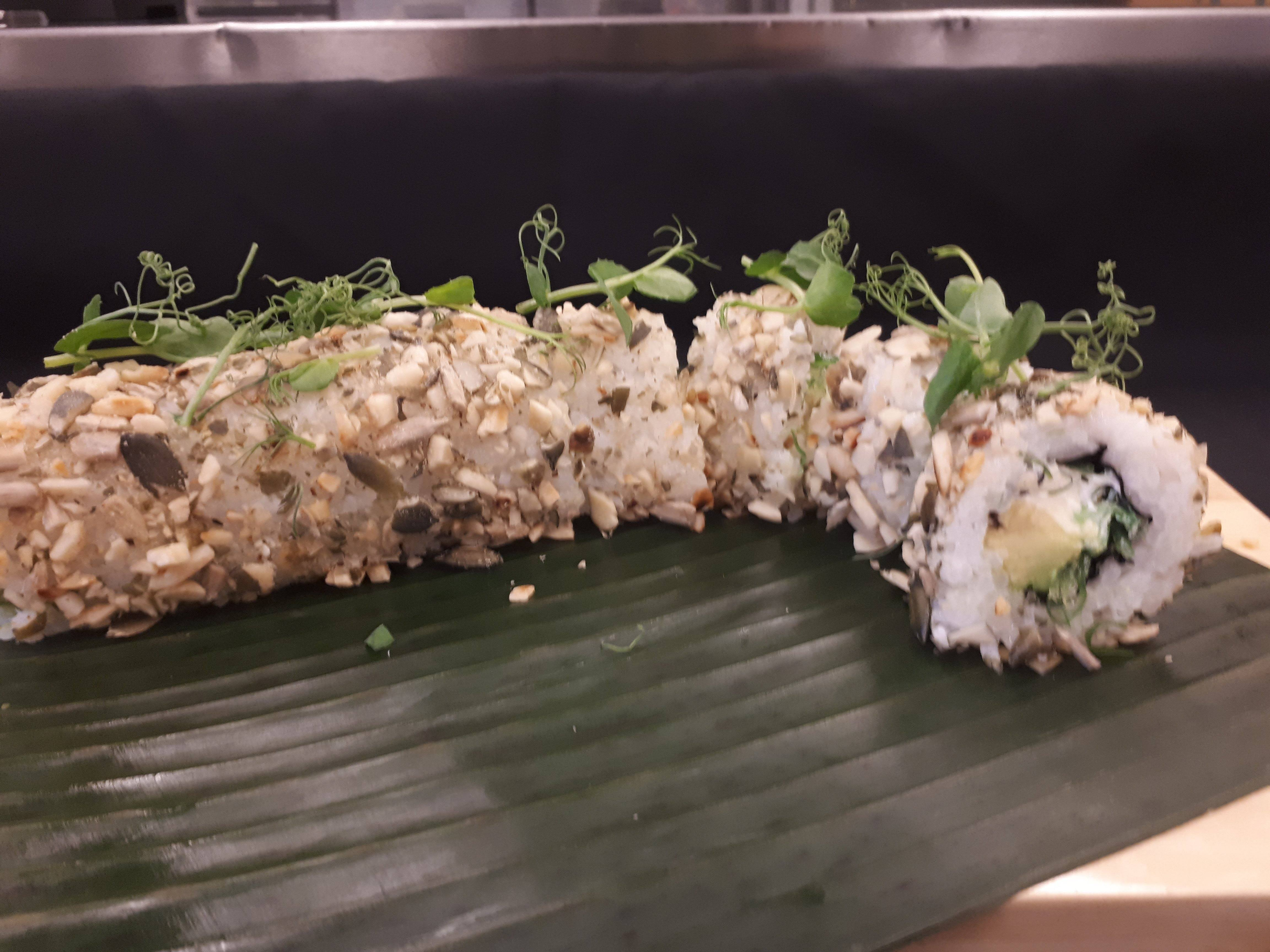 Veggie roll |  € 7,75